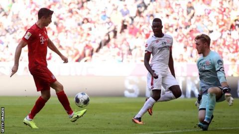 Perisic opens Bayern account in Mainz thrashing