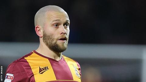 Nicky Law made 88 appearances for Bradford City after joining from Rangers in June 2016