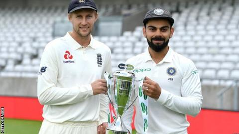 Joe Root and Virat Kohli ahead of Eng v India Test series, Aug-Sep 2018
