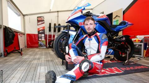Paul Jordan is a former British 125cc championship contender