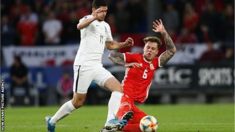 Defender Joe Rodon has won four Wales caps since making his debut against Azerbaijan in August 2019