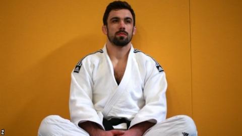 GB judoka Jono Drane