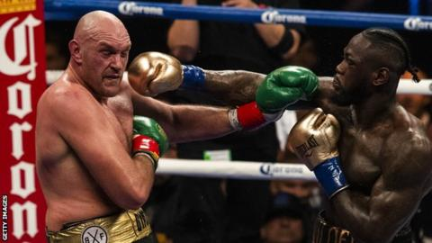 Tyson Fury and Deontay Wilder confirm Las Vegas rematch on 22 February