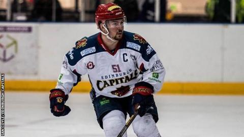 Edinburgh Capitals captain Mike D'Orazio
