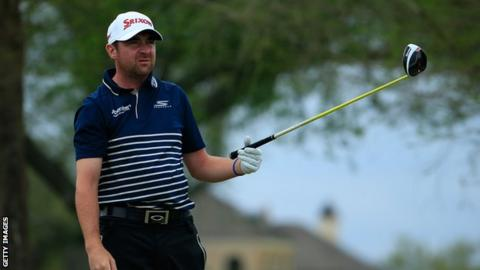 Jimmy Gunn finished joint top Scot in the 2015 US Open