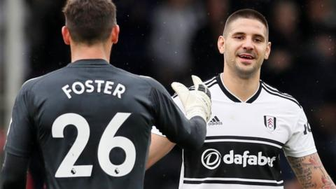 Aleksander Mitrovic and Ben Foster