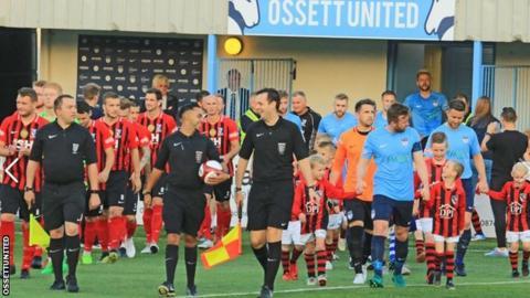 Ossett United v Cleethorpes Town