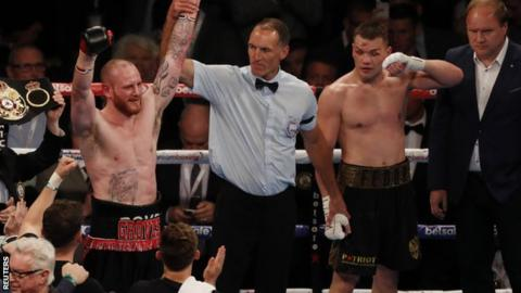 George Groves (left)