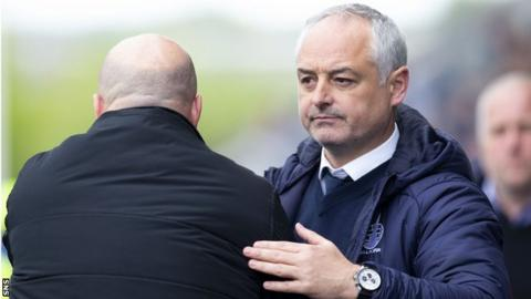 Falkirk manager Ray McKinnon has recruited a clutch of players from the Championship