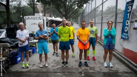 Sri Chinmoy Self-Transcendence: The 3,100-mile race around a New York block