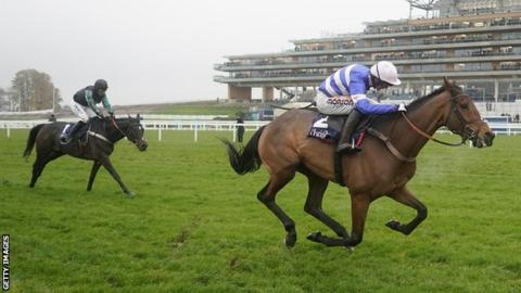 Cyrname and Lostintranslation head check box for King George Chase