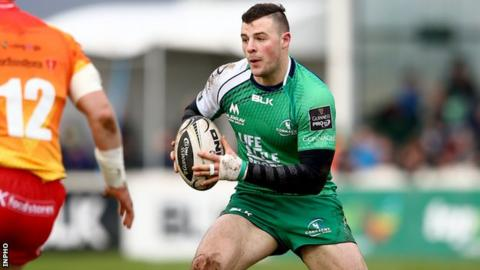 Robbie Henshaw won his first cap for Ireland against the United States of America in June 2013