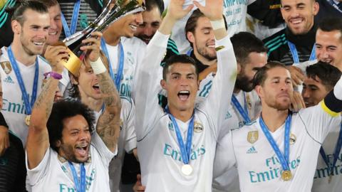 Real Madrid win the Club World Cup