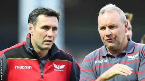 Stephen Jones and Wayne Pivac in conversation