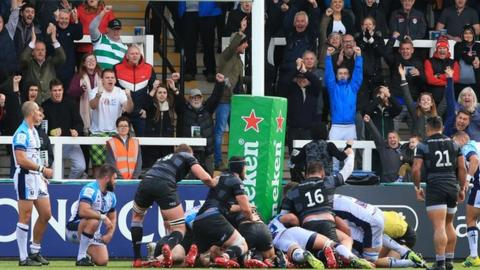e8dafcdc1 European Rugby Champions Cup  Newcastle Falcons 23-20 Montpellier ...