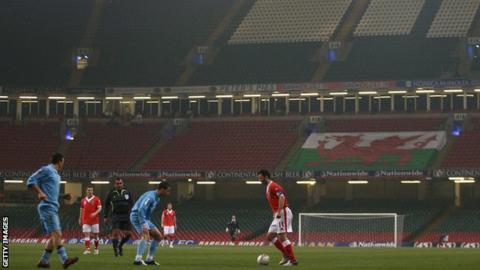 Ryan Giggs at Millennium Stadium