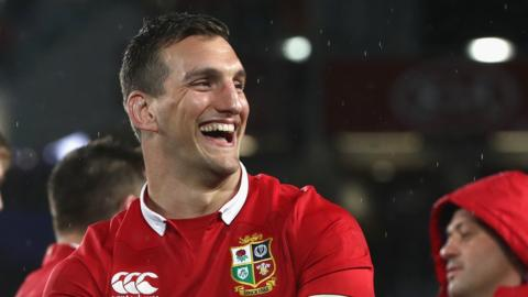 Sam Warburton was happy after the Lions drew their 2017 series against New Zealand