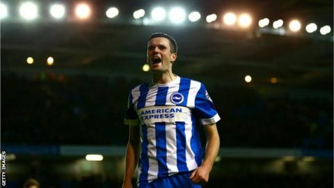 Jamie Murphy in action for Brighton in their promotion winning Championship campaign last season.