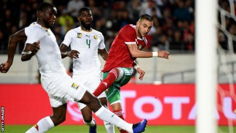 Morocco v Cameroon