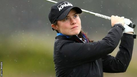 Leona Maguire is playing in her first Ladies European Tour event since turning professional