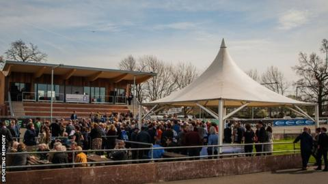 Herne Hill Velodrome's new pavilion was officially opened by UCI president Brian Cookson