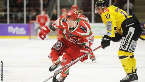 Forward Craig Moore played 17 games for Cardiff Devils last season before injury struck
