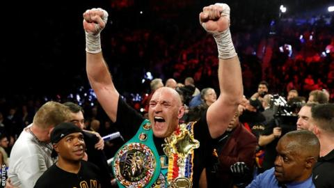 Tyson Fury Five Things We Learned About The Gypsy King Bbc Sport
