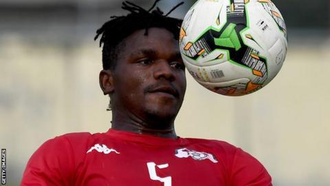 Burkina Faso defender Patrick Malo