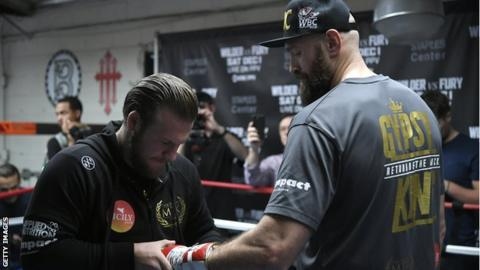 Tyson Fury opens up on sex ban ahead of Deontay Wilder bout