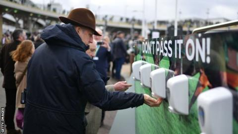 British horseracing prepared to move behind closed doors