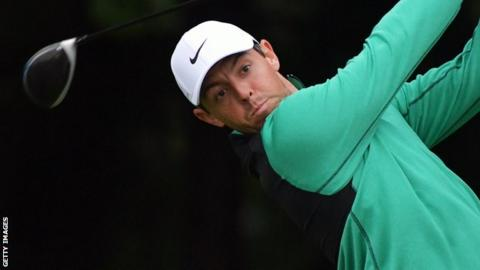 Rory McIlroy finished two shots off the pace in Philadelphia