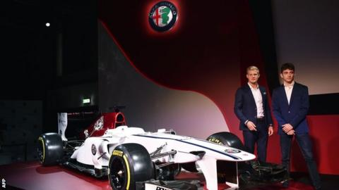 Alfa Romeo Sauber confirms Leclerc and Ericsson