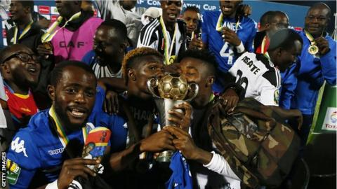 TP Mazembe hold off SS United to win CAF Confed Cup