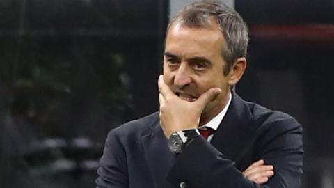 Under-pressure AC Milan boss Marco Giampaolo