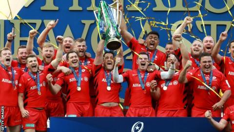 Champions Cup: Saracens begin defence against Racing 92