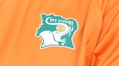 The Ivory Coast Football Federation (FIF) logo