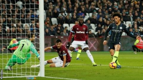 West Ham 0-4 Manchester City  Champions cruise to London Stadium win ... 9c51e5172