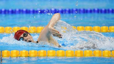 Para-swimmer Bethany Firth