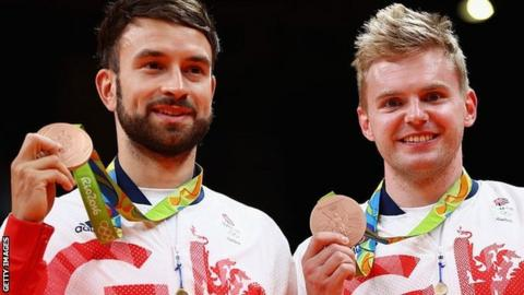 Chris Langridge and Marcus Ellis won Great Britain's first ever Olympic badminton men's doubles medal, taking bronze at Rio 2016