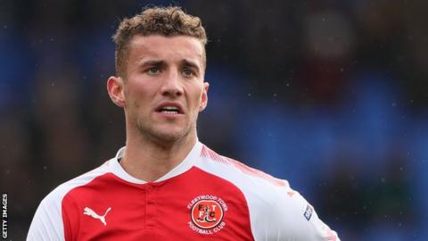 Baily Cargill on loan at Fleetwood Town