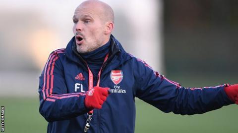Arsenal interim boss Freddie Ljungberg