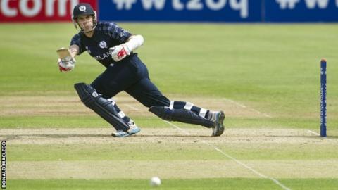 Scotland opening batsman Kyle Coetzer