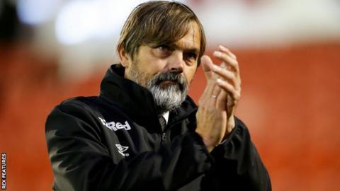 Derby boss Phillip Cocu