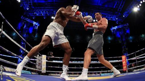 Anthony Joshua's next two fights to be staged at Wembley Stadium
