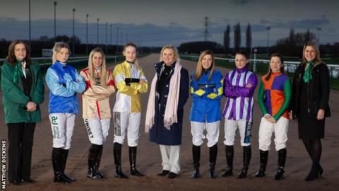Female jockeys set to ride at Southwell racecourse on 8 March