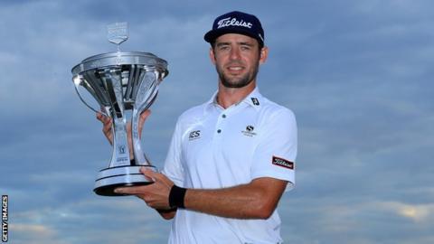 Houston Open: American Lanto Griffin wins first PGA Tour title