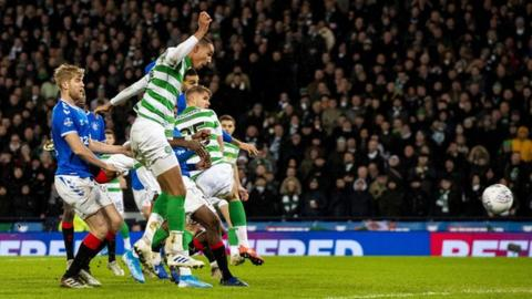 Christopher Jullien was in an offside position when he scored in the Scottish League Cup final against Rangers