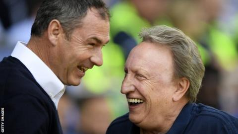 Paul Clement and Neil Warnock