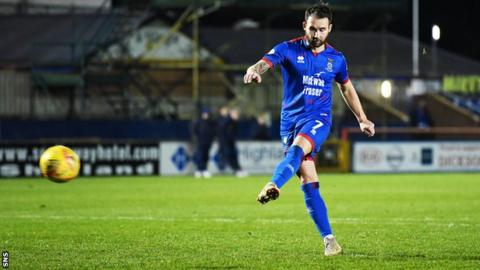 Inverness Caledonian Thistle beat Clyde on penalties to reach the semi-finals