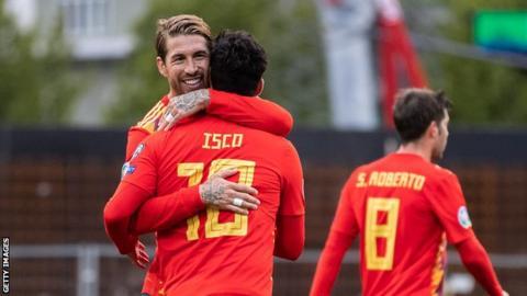 A special goal for Sergio Ramos